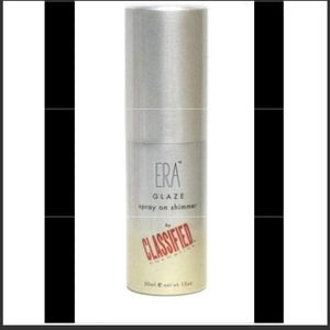 Era Face Airbrush Spray On Glaze Platinum Shimmer